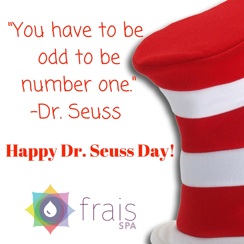 Happy Dr. Seuss Day Mar. 2nd 2016!