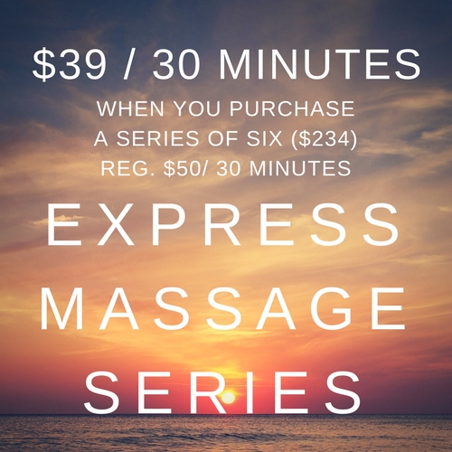 Express massage Discount Series