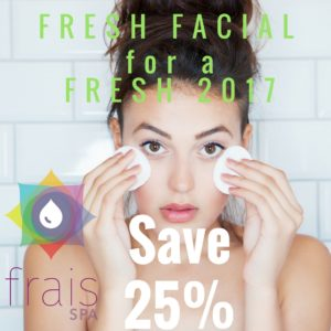 New Year Facial-25%off
